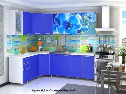 Кухня Фотопечать угловая 1,85*2,45