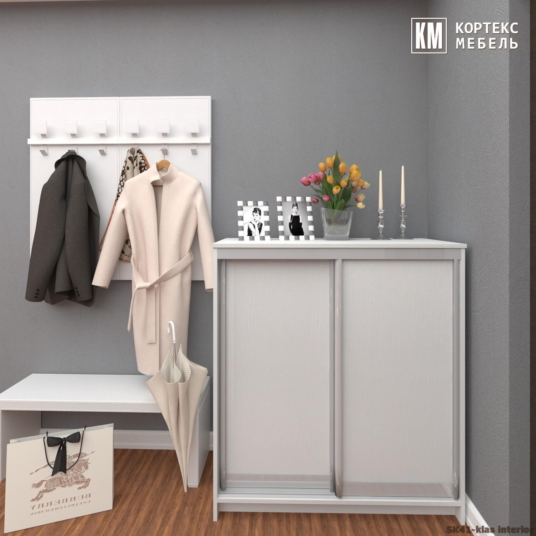 Шкаф для обуви СЕНАТОР ШК41 Классика (1,04м)