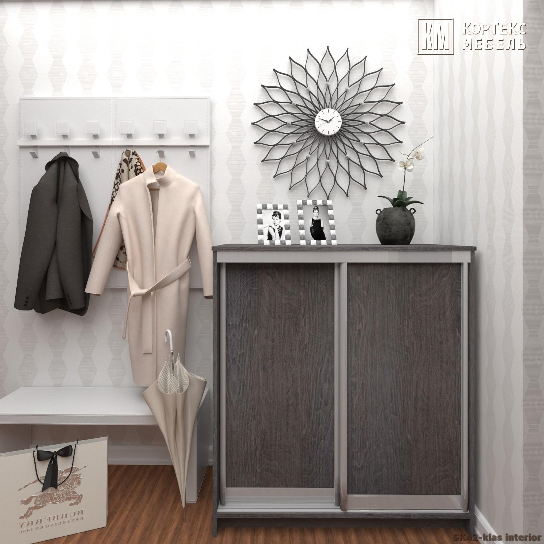 Шкаф для обуви СЕНАТОР ШК42 Классика (1,04м)